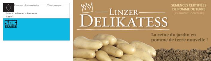 plants pomme de terre etiquette linzer delikatess recto